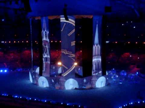 2010 Olympics Closing Ceremony: promotion of 2014 Olympics in Sochi, Russia