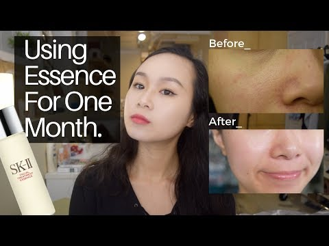 Does Essence Work? Using Essence for 1 Month | Secret Key Treatment Essence Review