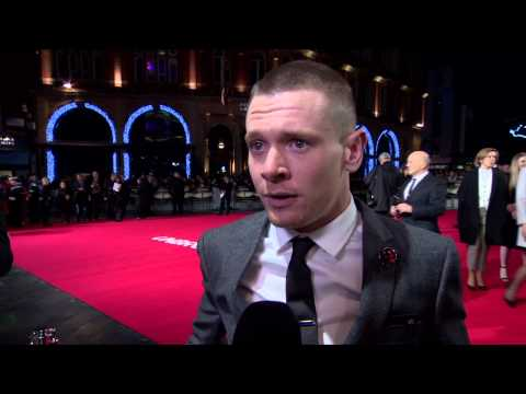 "Unbroken: Jack O'Connell ""Louis Zamperini"" London Premiere Movie Interview"