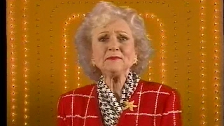 One of several short promos for Game Show Network that aired in 1995. This one featured newly-recorded cameos by Jim Lange, Gene Rayburn, Charles Nelson Reilly, and Betty White.