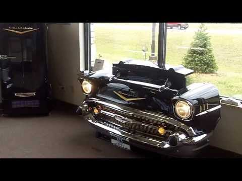 1957 Chevy TV lift, Couch, and Refrigerator for the Ultimate Man Cave from ClassicCarRoom.com