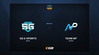 SG eSports vs Team NP, Game 1, Dota Summit 7, AM Qualifier