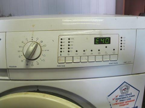Ремонт стиральной машины zanussi видео