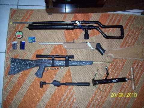Armas caseira de pressão-(MAURICIO)-AIRGUN