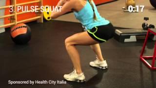 Circuit Training Women 8' workout