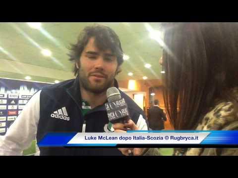 6 Nazioni 2014 - Luke McLean al termine di Italia vs Scozia