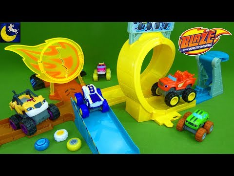 blaze and the monster machines darington to the moon youtube