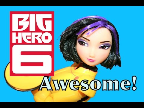 toys - Disney BIG HERO 6 Go Go Tomago Barbie Doll Toy Review with Disney Frozen Elsa by AllToyCollector. GoGo Tomago is from the Disney Big Hero 6 movie with Baymax. Disney Princess Queen Elsa ...