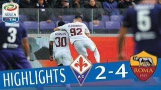 Video Fiorentina - Roma 2-4 - Highlights - Giornata 12 - Serie A TIM 2017/18 MP3, 3GP, MP4, WEBM, AVI, FLV Agustus 2018