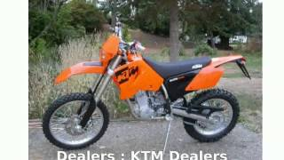 7. 2004 KTM MXC 525 -  motorbike Features superbike Specification Top Speed Dealers Engine