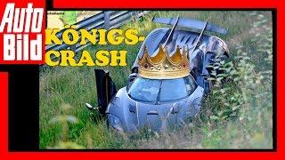 Crash Koenigsegg auf Nürburgring (2016) by Auto Bild