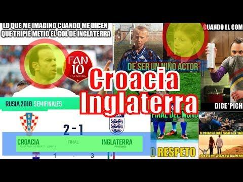 Memes Croacia a la FInal vence 2-1 a a Inglaterra