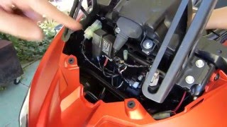 5. Dray's how to - Kawasaki Versys 2015 - 2016 USB port Install - The proper way
