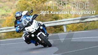 8. 2015 Kawasaki Versys 650 LT First Ride - MotoUSA
