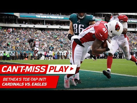 Video: Antoine Bethea's Amazing Toe-Tap INT in the End Zone! | Can't-Miss Play | NFL Wk 5 Highlights