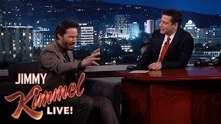 Video Jimmy Kimmel Asks Keanu Reeves Random Questions MP3, 3GP, MP4, WEBM, AVI, FLV Oktober 2018