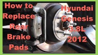 Nonton Hyundai Genesis 3 8l 2012 Sedan  How To Replace Rear Brake Pads Film Subtitle Indonesia Streaming Movie Download