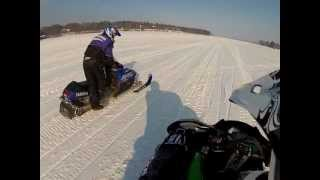 6. 2012 XF 800 Sno Pro 1st Ride