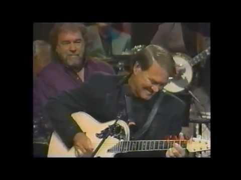Glen Campbell - Gentle on My Mind (terrific guitar break) (видео)