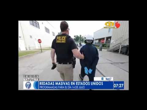 Dan inicio las masivas redadas de deportación