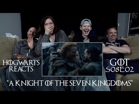 "Hogwarts Reacts: Game of Thrones S08E02 ""A Knight of the Seven Kingdoms"""