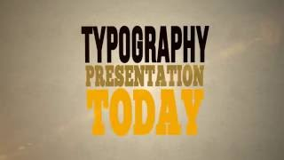 Typography Animation