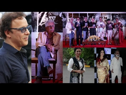 Naseeruddin Shah & Vidhu Vinod Chopra Launch Of Book Yesterday Films For Tomorrow