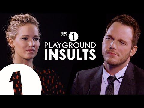 Jennifer Lawrence  Chris Pratt Insult Each Other