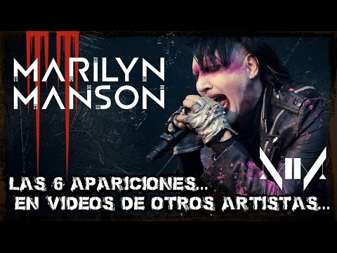 Video Las 6 apariciones de Marilyn Manson en vídeos musicales de otros artistas | NathanManson Tops download in MP3, 3GP, MP4, WEBM, AVI, FLV January 2017
