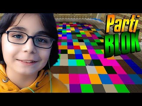 Renk Körü ! Minecraft Minigame Block Party