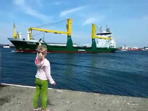 Girl Gets Huge Ship to Honk at Her