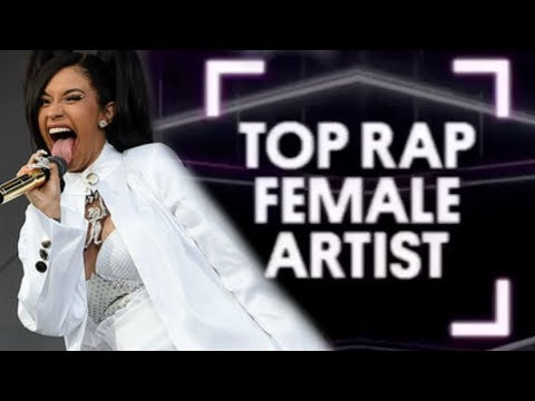 "Cardi B ""BILLBOARD 1ST TOP FEMALE RAP"" list released today"