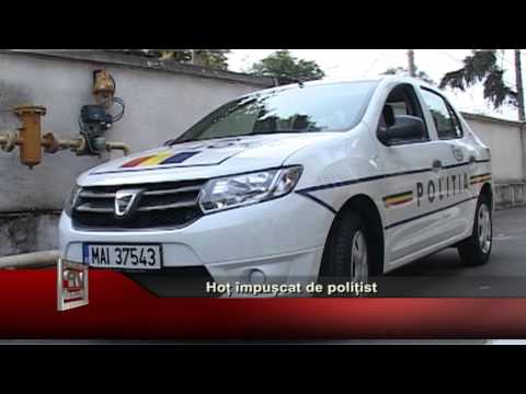 Hot impuscat de politist