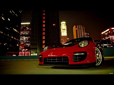drag race - Tanner Foust takes the Porsche 911 GT2 RS for a spin in the closed streets of LA, culminating in a drag race against - classic muscle car - the Chevy Nova, a...