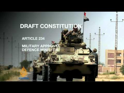 Egyptians vote on draft constitution