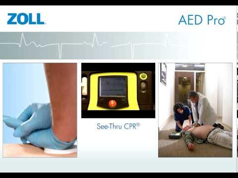 AED Pro: Un Defibrillatore resistente che funziona in qualunque condizione