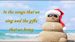 Let it be christmas Alan Jackson lyrics
