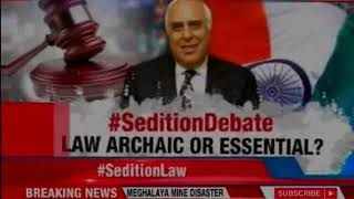 Kapil Sibal: Sedition law a colonial hangover, scrap it