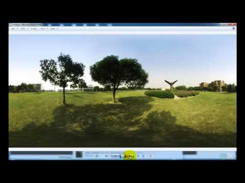 Easypano Tutorial: Output Cubic images and re-stitch a panorama with Panoweaver 9.20
