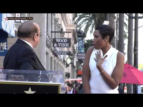 Jennifer Hudson Walk of Fame Ceremony