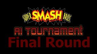 Super Smash Bros. AI Tournament Final Round