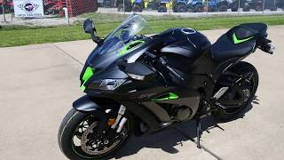 10. SALE $17,999: 2018 Kawasaki ZX10R Special Edition with Electronic Suspension