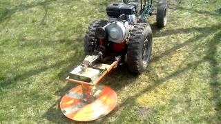 адаптер для роторной косилки