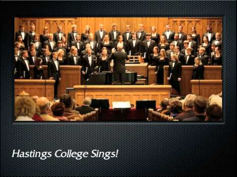 Clausen: Jabberwocky (The Hastings College Choir)