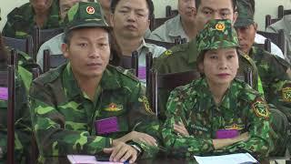 Hoành Bồ diễn tập chiến đấu phòng thủ cấp xã năm 2019