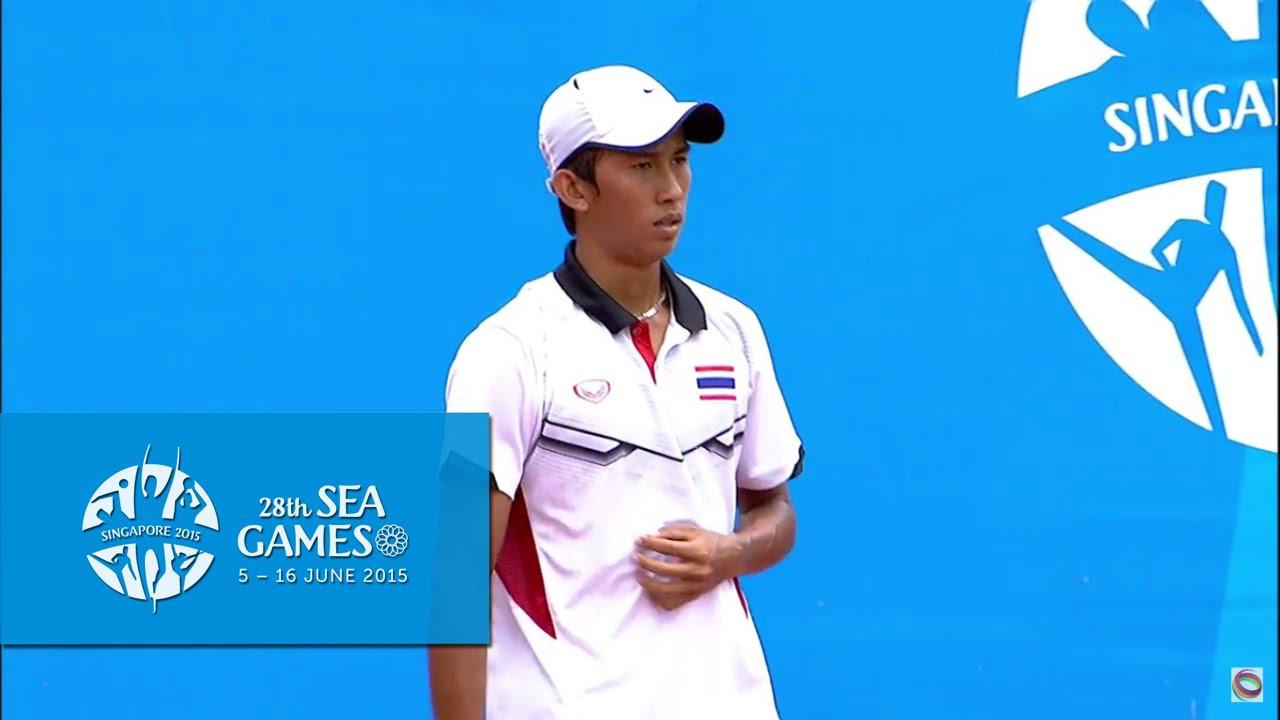 Tennis Men's Singles  Final (Day 9) | 28th SEA Games Singapore 2015