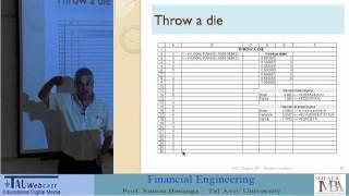 Lecture 4: Random Numbers; Binomial Model
