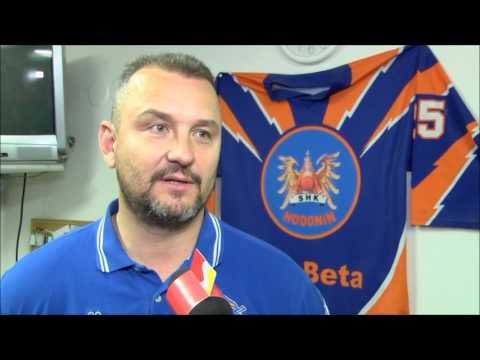 Semifinále Vsetín - Hodonín (reportáž TV Slovácko)