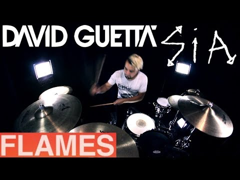 David Guetta & Sia - Flames (Drum Remix)