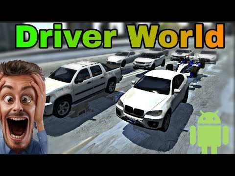 Driver World (New Game For Mobile ) Soon Ultra Graphics